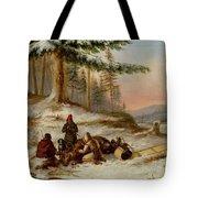 Moose Hunters Tote Bag