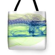 Moray Eel, Gymnothorax Funebris, X-ray Tote Bag