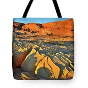 Morning Comes To Valley Of Fire Tote Bag
