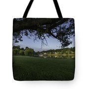 Morning In The Park Tote Bag