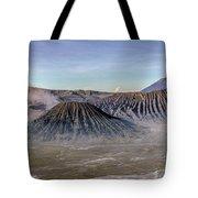 morning light Mount Bromo - Java Tote Bag