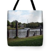 Morning On The Eau Gallie River Tote Bag