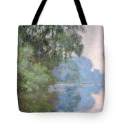 Morning On The Seine Near Giverny 1897 Tote Bag