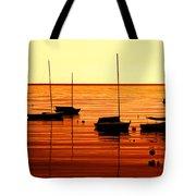 Morning Over Rockport Tote Bag