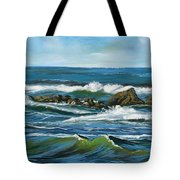 Morning Rush Tote Bag