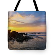 Morris Island Sunrise Tote Bag