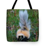 Mostly White Skunk Tote Bag