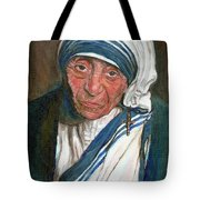 Mother Teresa Tote Bag