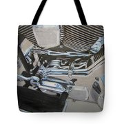 Motorcycle Close Up 2 Tote Bag