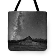 Moulton Barn Milky Way  Tote Bag