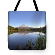 Mount Hood At Trillium Lake Tote Bag