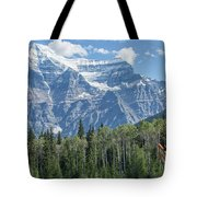 Mount Robson Tote Bag