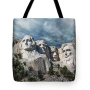 Mount Rushmore II Tote Bag