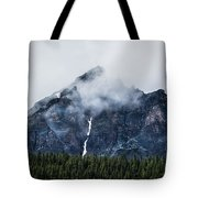 Mountain Tote Bag by Adnan Bhatti