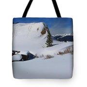 Mountain History Tote Bag