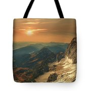 Mountain Valley Tote Bag