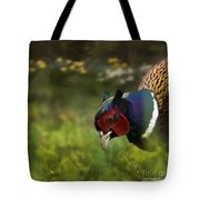 Mr Pheasant Tote Bag