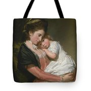 Mrs Johnstone And Her Son Tote Bag