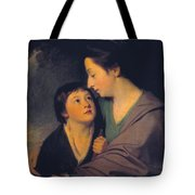 Mrs Richard Cumberland And Her Son Charles Tote Bag