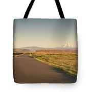 Mt Hood Sunset Tote Bag