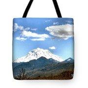 Mt Rainier Washington Tote Bag
