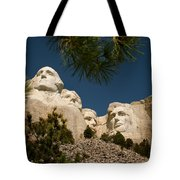 Mt Rushmore II Tote Bag