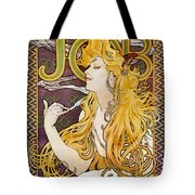 Mucha: Cigarette Papers Tote Bag