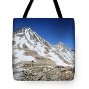 Muir Pass Panorama From High Above - John Muir Trail Tote Bag