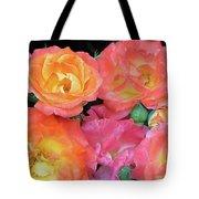 Multi-color Roses Tote Bag