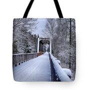 Munger Trail Bridge Tote Bag