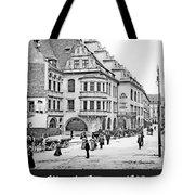 Munich, Germany, Street Scene, 1903, Vintage Photograph Tote Bag