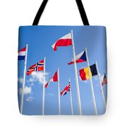 Musee Du Debarquement D-day Museum Tote Bag