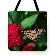 Musing Monarch Tote Bag