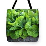 Mustard Greens Tote Bag
