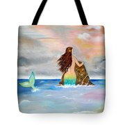 Mysteen The Mystical Queen Of The Sea Tote Bag