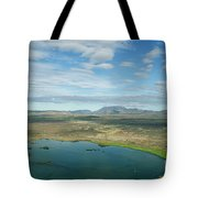 Beautiful Myvatn, Iceland Tote Bag