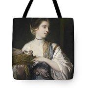 Nancy Reynolds With Doves Tote Bag