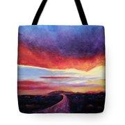 Narrow Road To Life Tote Bag
