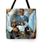 Nasa Chimpanzee, 1961 Tote Bag