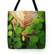 Nasturtium Leaves Tote Bag