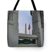National World War II Memorial Tote Bag