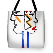 Native American Image Tote Bag