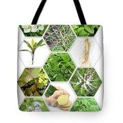 Natural Eco Bio Cosmetics Tote Bag