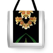 Nature In Abstract Orchidaceae Tote Bag