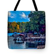 Nature Landscapes Around Lake Wylie South Carolina Tote Bag