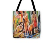 Near The Waterfall Tote Bag