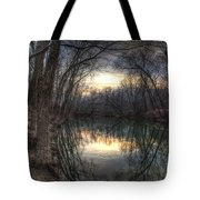 Neath The Willows By The Stream Tote Bag