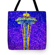 Needle In Mosaic Tote Bag