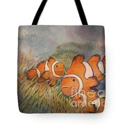 Nemo And Friends Tote Bag