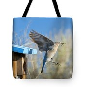 Leaving The House Tote Bag